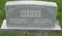 Sarah Frances <I>McCue</I> Berry