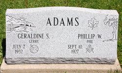 """Geraldine """"Gerre"""" <I>Sorenson</I> Adams"""