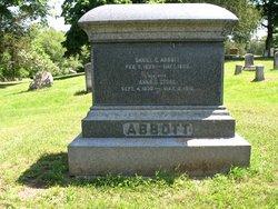 Anna Upton <I>Stone</I> Abbott