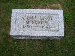 Archie LeRoy Merrihew
