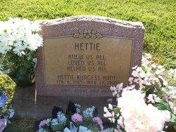 Hettie <I>Burgess</I> Hunt