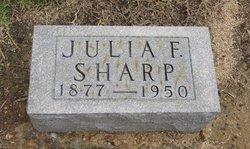 Julia Frances <I>Russell</I> Sharp