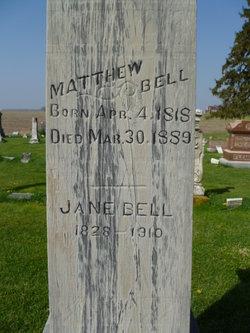 Jane <I>Mulholland</I> Bell