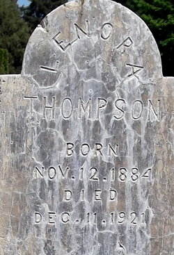 Lenora Beatrice <I>Thompson</I> Thompson