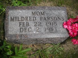 Mildred Louise <I>McDonald</I> Parsons