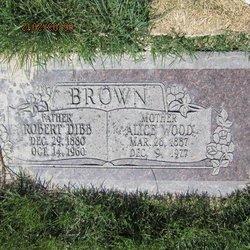 Alice <I>Wood</I> Brown