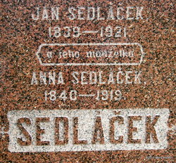 Anna <I>Chadek</I> Sedlacek