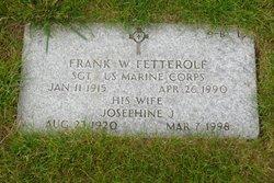 Frank W Fetterolf