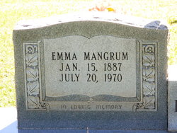 Emma Blanche <I>Mangrum</I> Burchfield