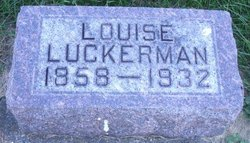 Louisa <I>Klotzbach</I> Luckerman