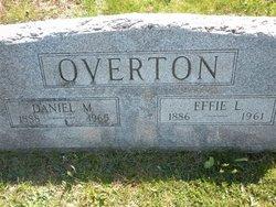 Effie L <I>Totten</I> Overton