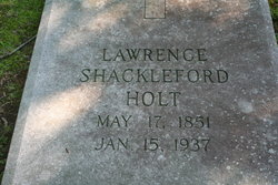 Lawrence Shackelford Holt