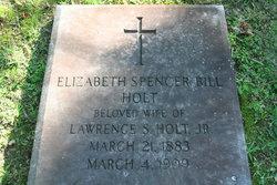 Elizabeth Spencer <I>Bill</I> Holt