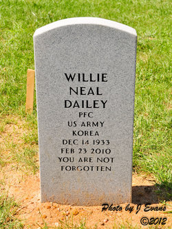 PFC Willie Neal Dailey