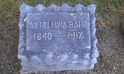 Wilhelmina <I>Gantz</I> Bahr