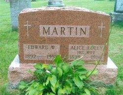 Alice May <I>Foley</I> Martin