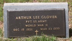 Pvt Arthur Lee Glover