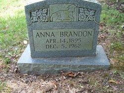 """Anna J """"Annie"""" <I>Cheatham</I> Brandon"""