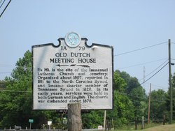 Old Dutch Meeting House Cemetery