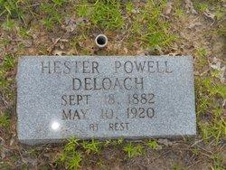 Ruby Hester <I>Powell</I> Deloach