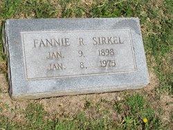 Fannie Roberta <I>Appling</I> Sirkel