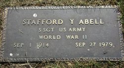 Stafford Young Abell