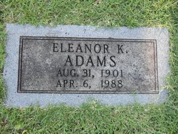 Eleanor <I>Killbuck</I> Adams
