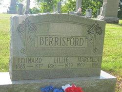 Lillie Belle <I>Johnston</I> Berrisford