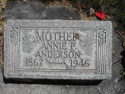 Annie Tabitha <I>Petersen</I> Anderson