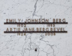 Emily <I>Johnson</I> Berg