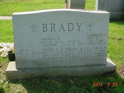 Mary K <I>Kehoe</I> Brady