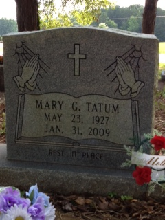 Mary G Tatum