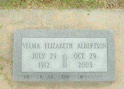 Velma Elizabeth <I>Brink</I> Albertson