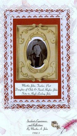 Martha Ann John