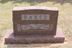 Julia <I>Barker</I> Baker