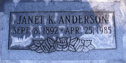 Janet <I>Knee</I> Anderson