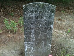 Annie <I>Waller</I> Brumbeloe