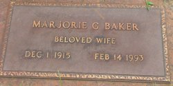 Marjorie Grace <I>Nadeau</I> Baker