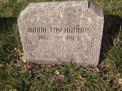 Minnie Inez <I>Martin</I> Loy