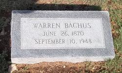 Warren Bachus