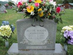 Bessie Maude <I>Coffey</I> Johnston
