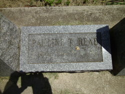 Pauline T. <I>Todd</I> Head
