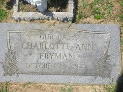 Charlotte Ann Fryman