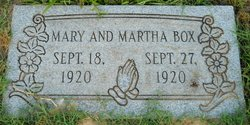 Martha Box