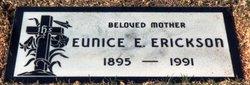 Eunice Elizabeth <I>Harney</I> Erickson