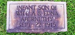 Infant Son Abernethy
