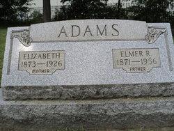 Elizabeth <I>Frymoyer</I> Adams