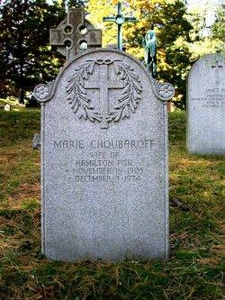 Marie <I>Choubaroff</I> Fish