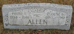 Clouse Burton Allen