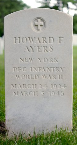 PFC Howard F Ayers